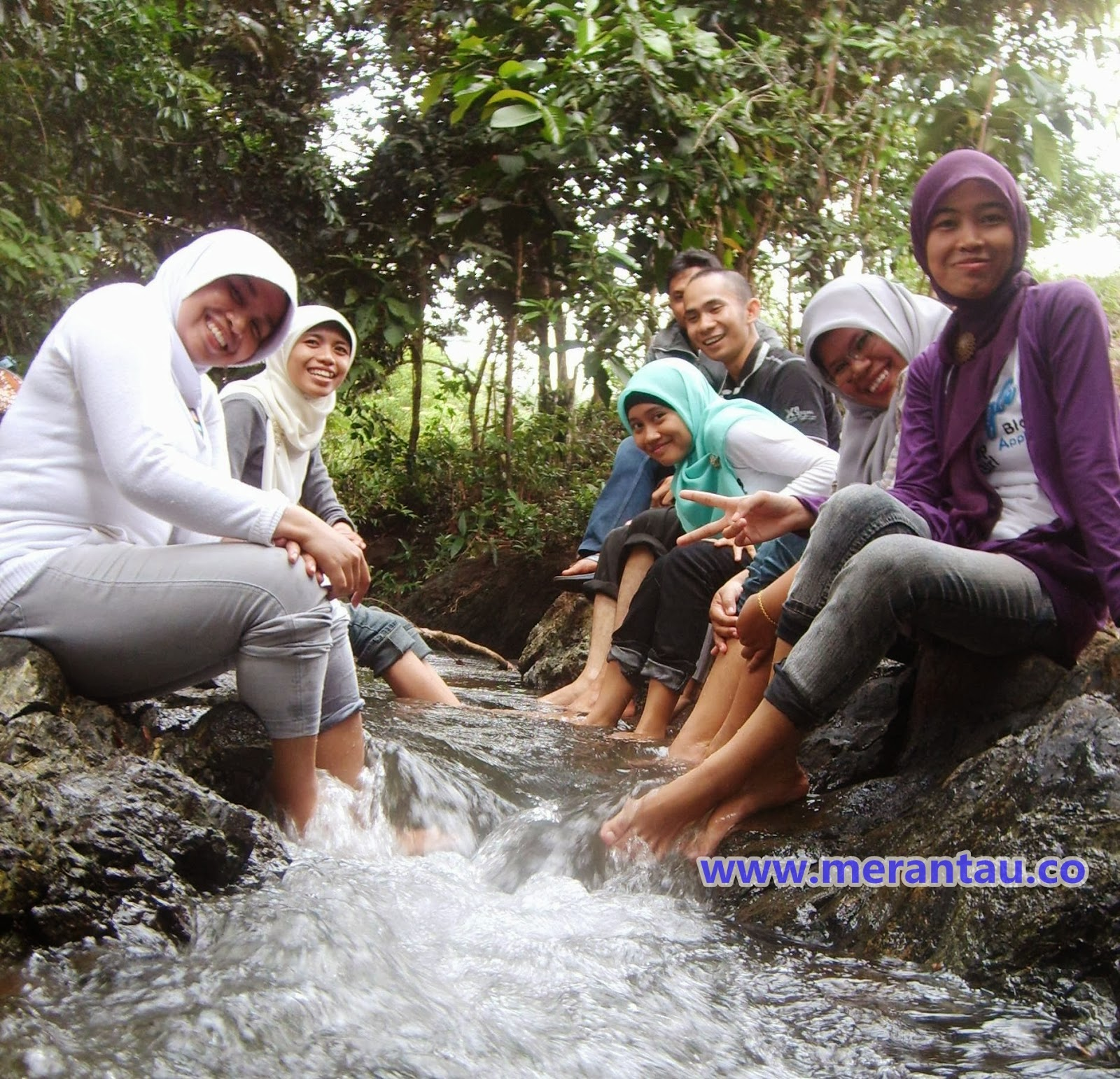 air terjun mandiangin