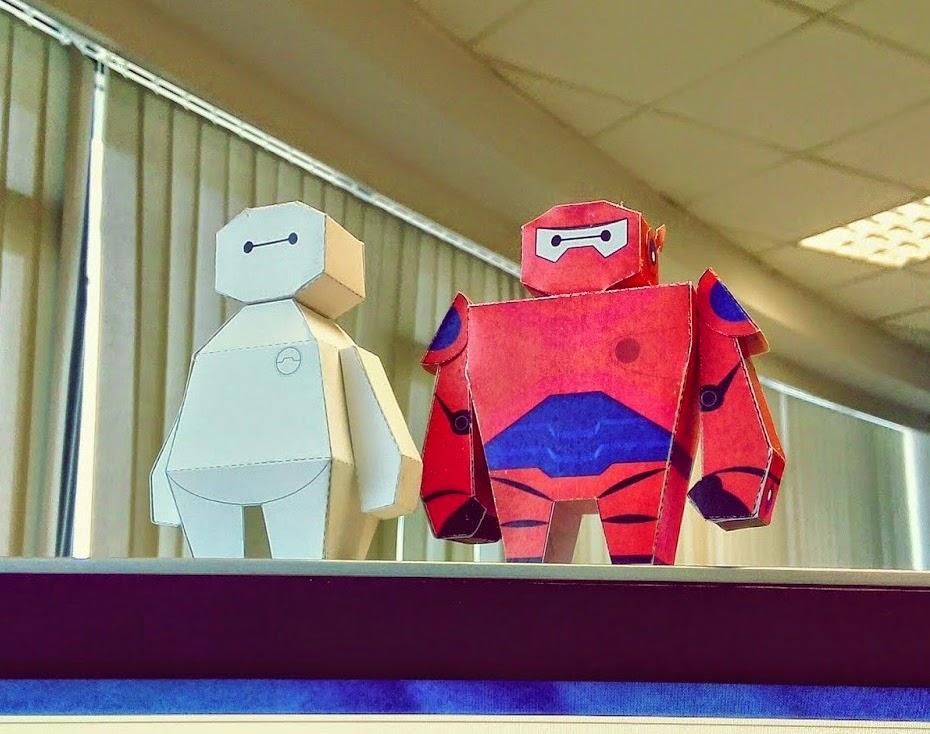 Papercraft Big Hero 6 - Baymax Paper Toy
