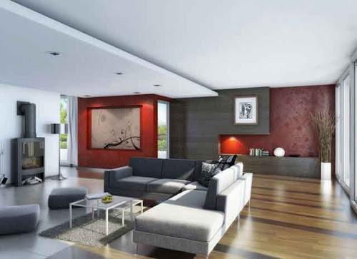 10 Inspirasi Design Ruang Tamu Minimalis 20013