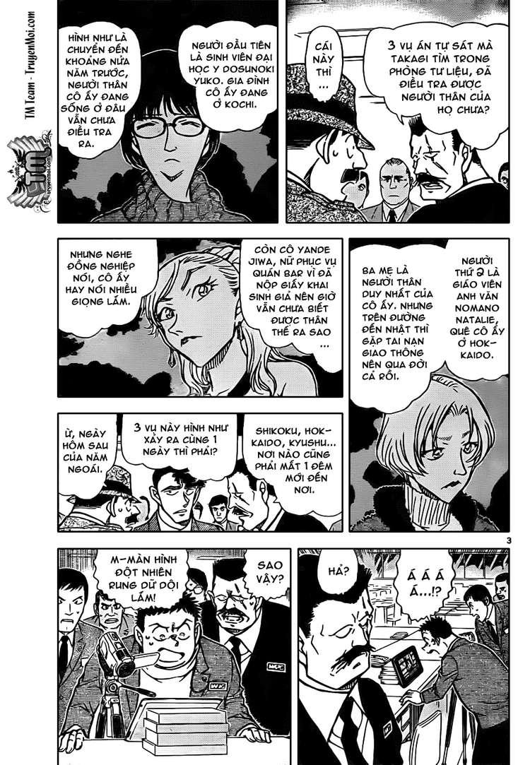 Detective Conan - Thám Tử Lừng Danh Conan chap 806 page 3 - IZTruyenTranh.com