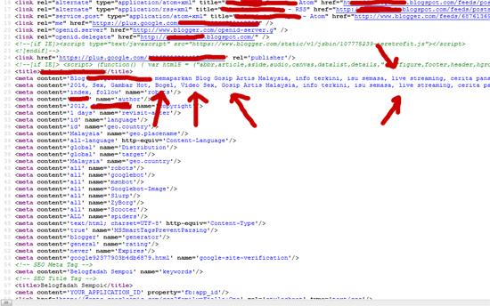 Memanipulasi Meta Tag Untuk Trafik Blog