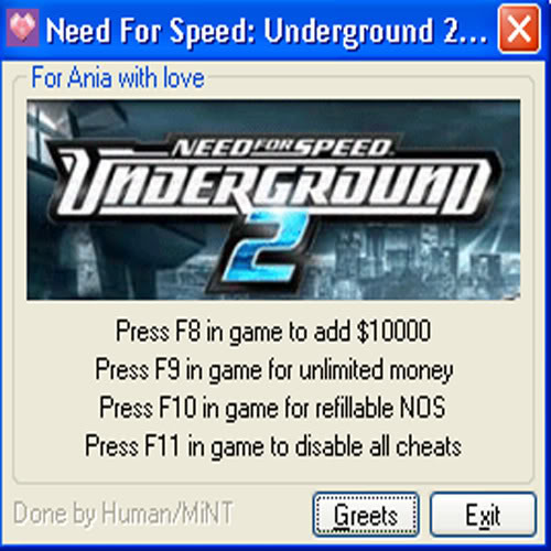 nfs underground 2 trainer unlock all parts free download
