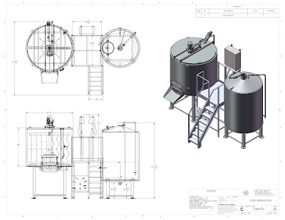 15-barrel brewhouse