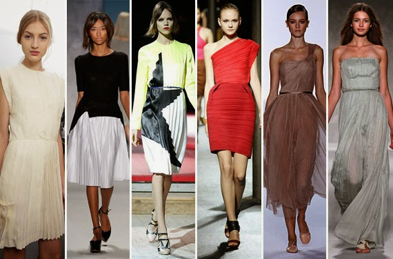 How to Work the Pleats Fashion Trend