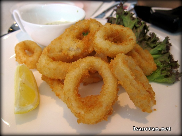 Calamari Fritti - RM18.80
