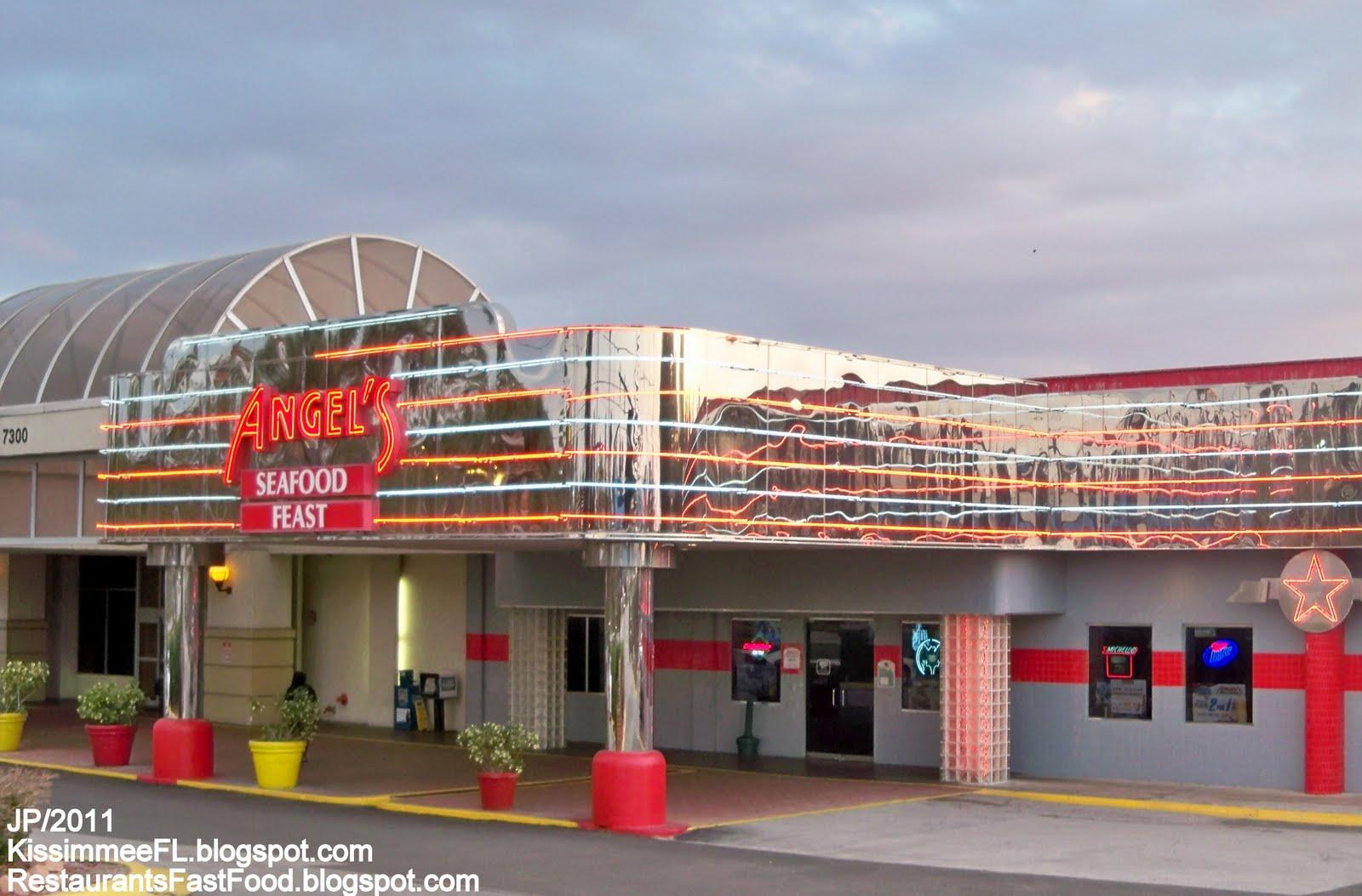 Angel S Kissimmee Florida Diner Bakery Seafood Feast Buffet Restaurant Fl Lobster Tourist Trap