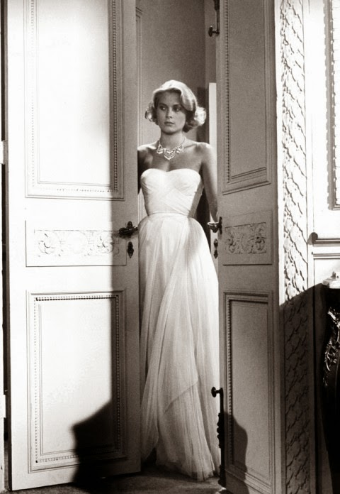 white gown - princess grace kelly of monaco style icon