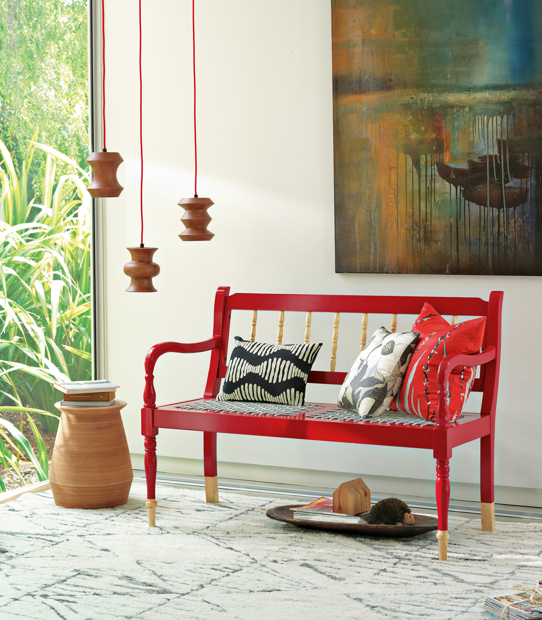 quero um banco de jardim : quero um banco de jardim:West Elm South African Collection