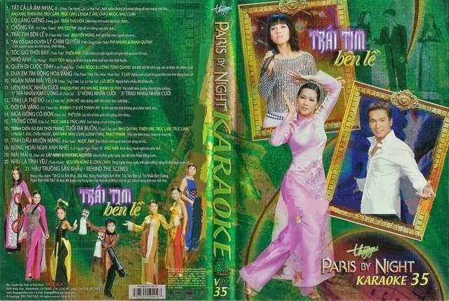PBN Karaoke 35 – Trái Tim bên Lề (DVD9)