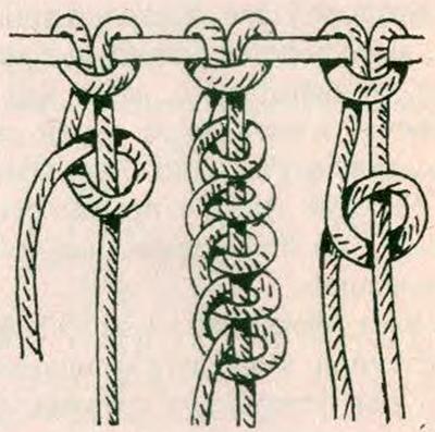 Плетение симпатичного пояса от пряжки