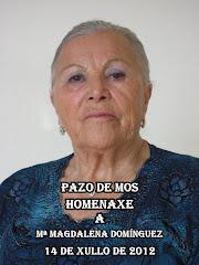REPORTAXE FOTOGRÁFICA HOMENAXE A MAGDALENA DOMINGUEZ NO PAZO DE MOS (90 ANIVERSARIO)