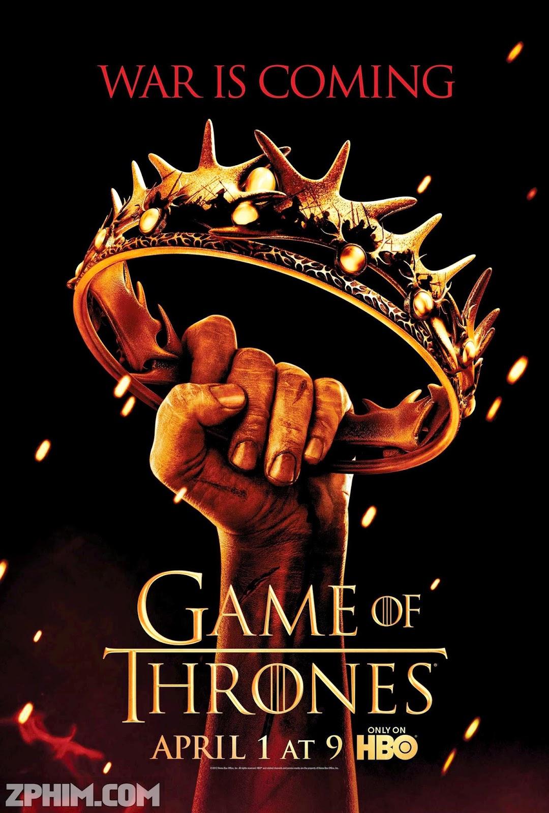 Trò Chơi Vương Quyền Phần 2 - Game Of Thrones Season 2 (2012) Poster