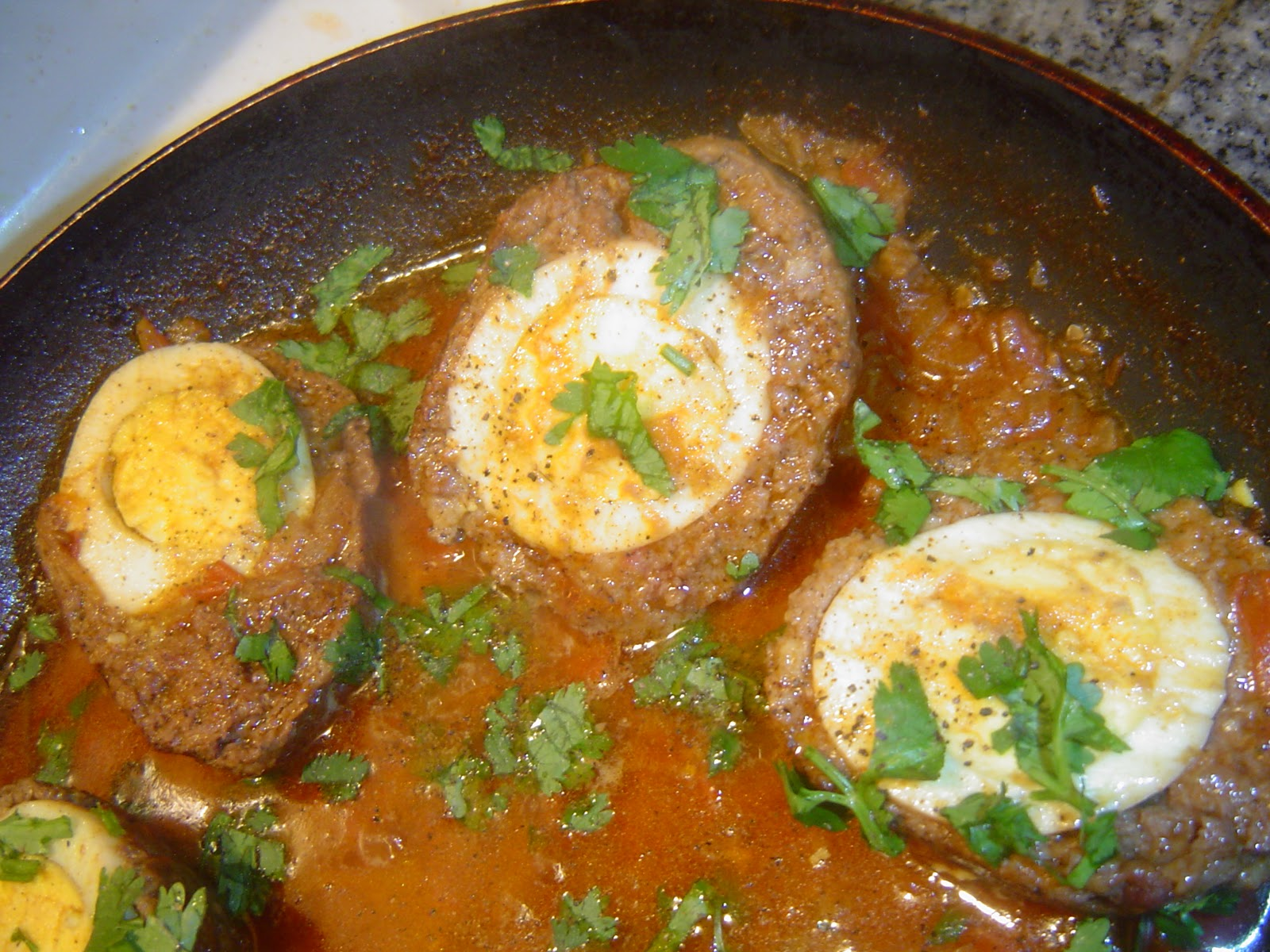 home cooking nargisi kofta curry