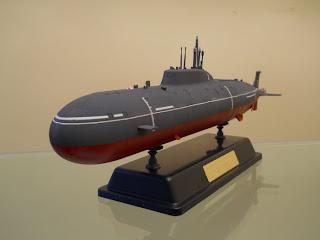 SSN Akula II K-335 giepard