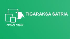 Logo PT. Tigaraksa Satria, Tbk