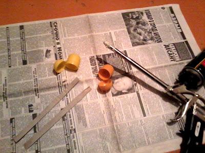 Рожки из капсул киндерсюрпризов