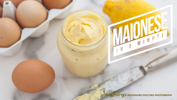 maionese fatta in casa • homemade mayonnaise sauce
