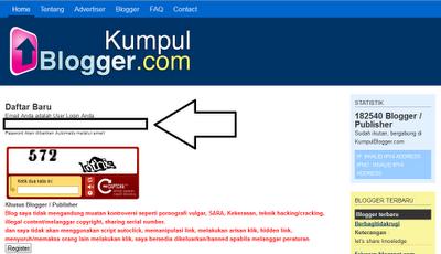 Cara Memasang Iklan di Blogger