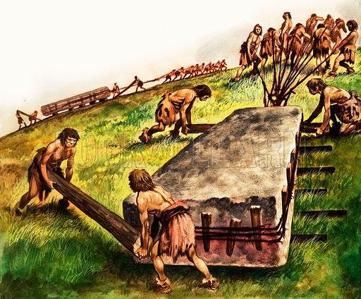 pembangunan stonehenge