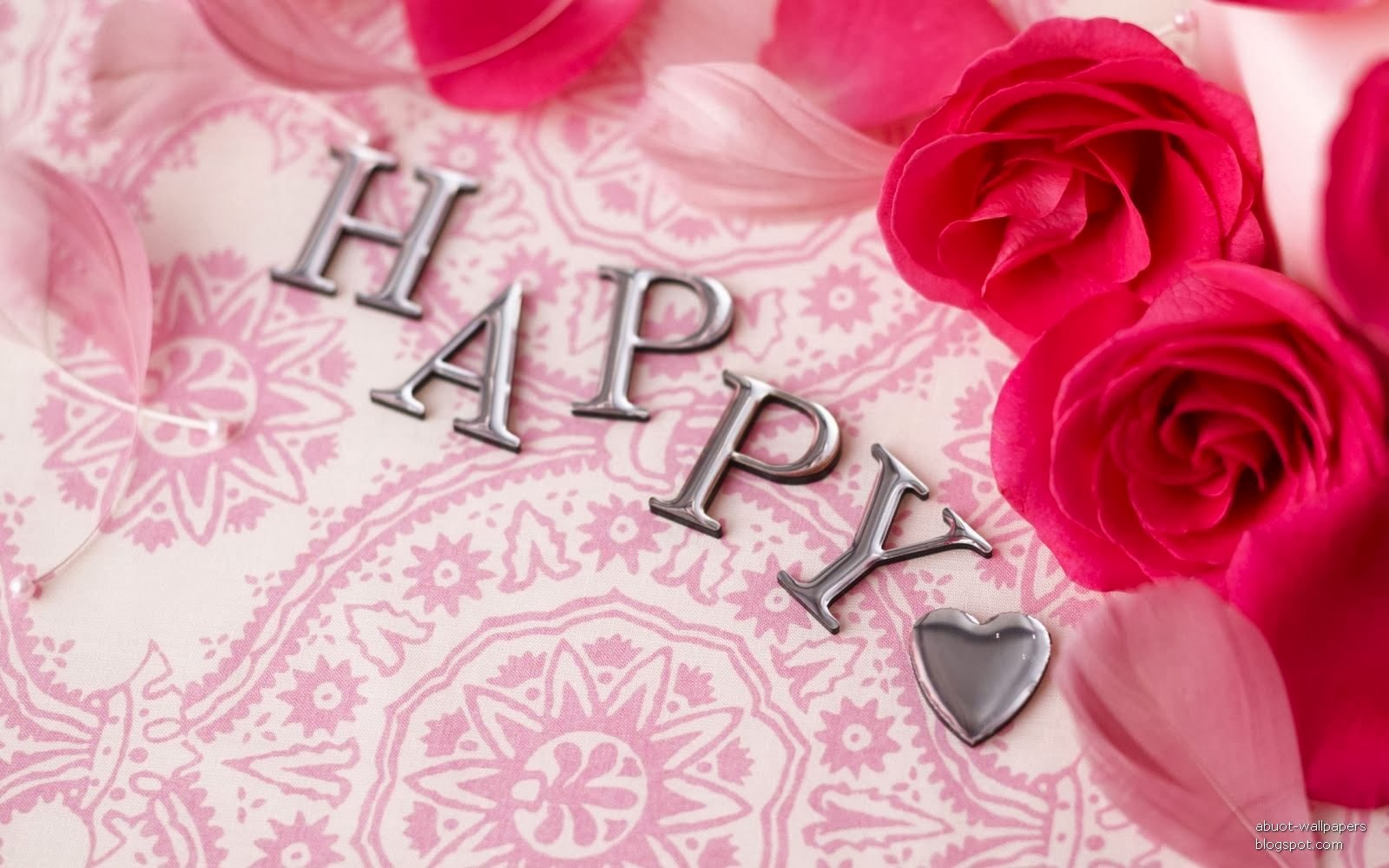 Most Inspiring Wallpaper Birthday Father - happy_birthday_wallpaper_with_rose  Trends_462467.jpg