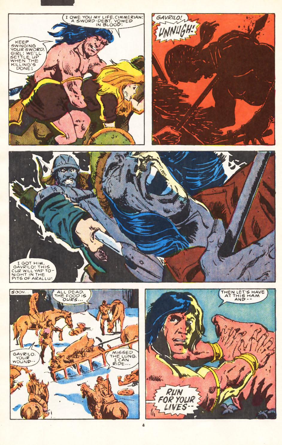 Conan the Barbarian (1970) Issue #224 #236 - English 5