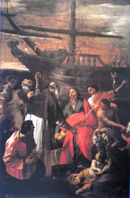 Sbarco di San Paolo a Pozzuoli dans immagini sacre