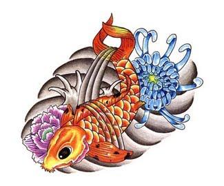 creature tattoos,seacreature tattoos,ocean tattoos,fish tattoos,fishes tattoos,fins tattoos,beautiful tattoos,blooms tattoos,blossoms tattoos,gentle tattoos,leaf tattoos,leaves tattoos,floral tattoos,koi tattoos,flowers tattoos