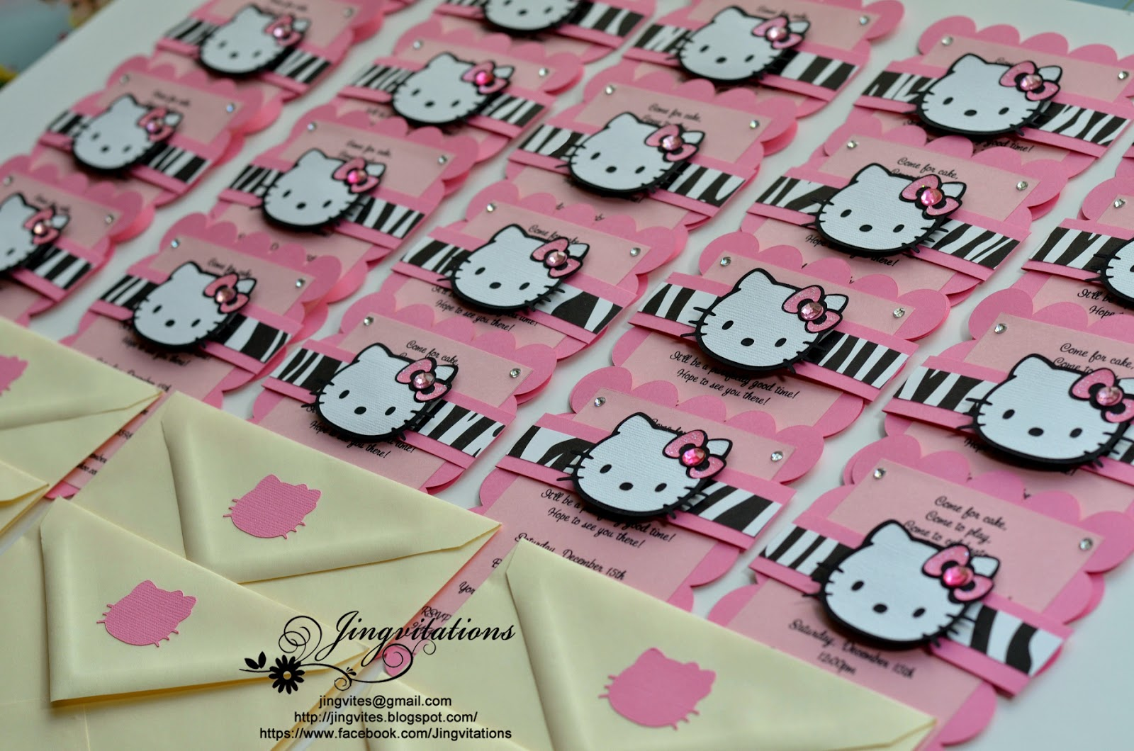 hello kitty birthday party invitations Intoanysearchco