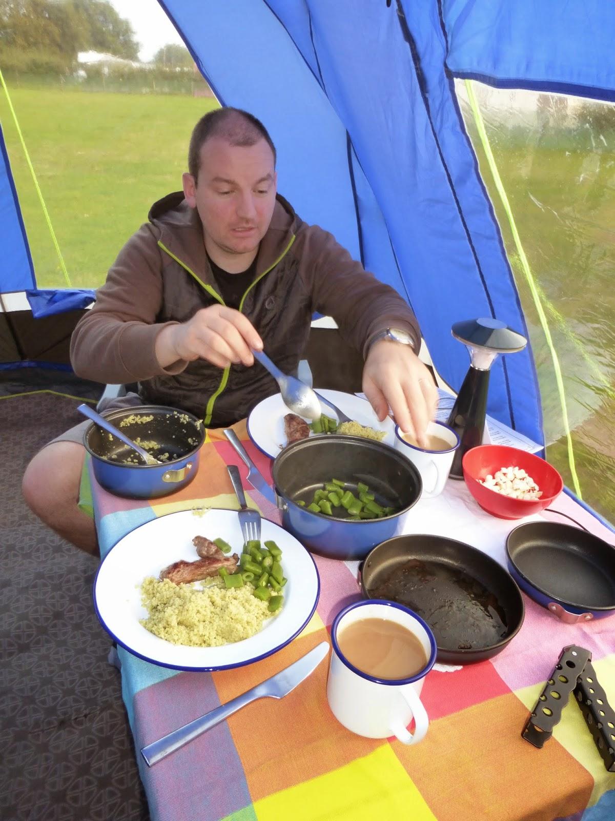 camping teatime