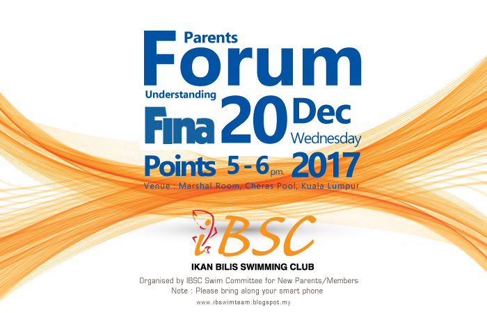 Parents Forum on FINA Points