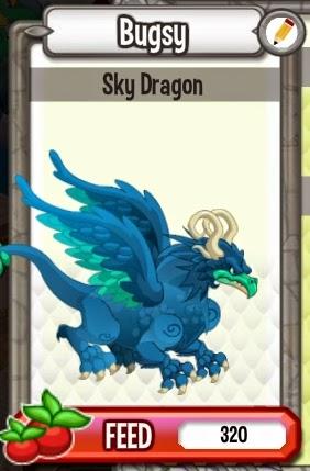 Cara Mendapatkan Sky Dragon Di Dragon City