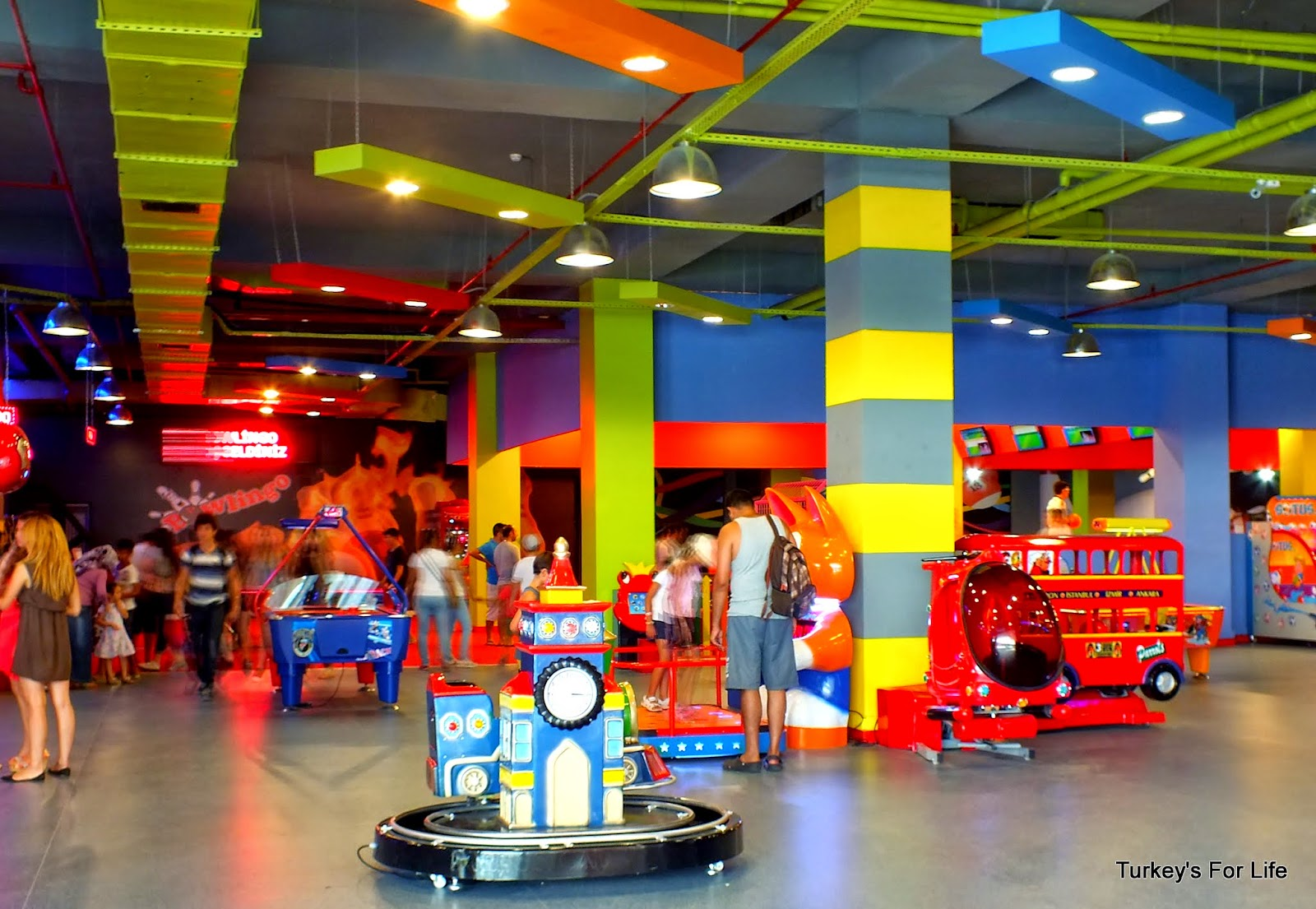 Amusement For The Kids At Fethiye Shopping Centre