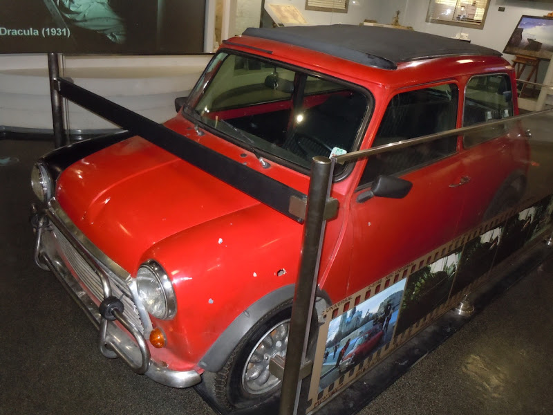Bourne Identity Mini Cooper movie car
