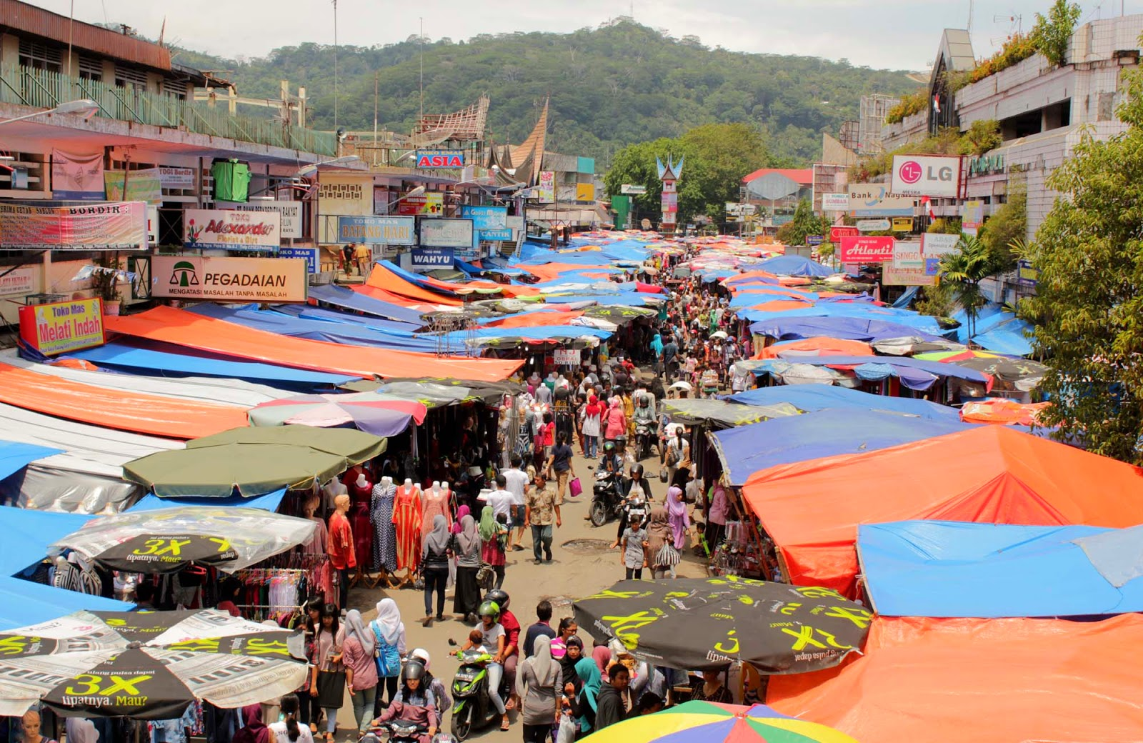 Peta Pasar Kemis Tangerang
