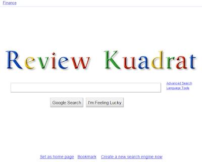 Cara Mengganti Tulisan Google Menjadi Nama Anda