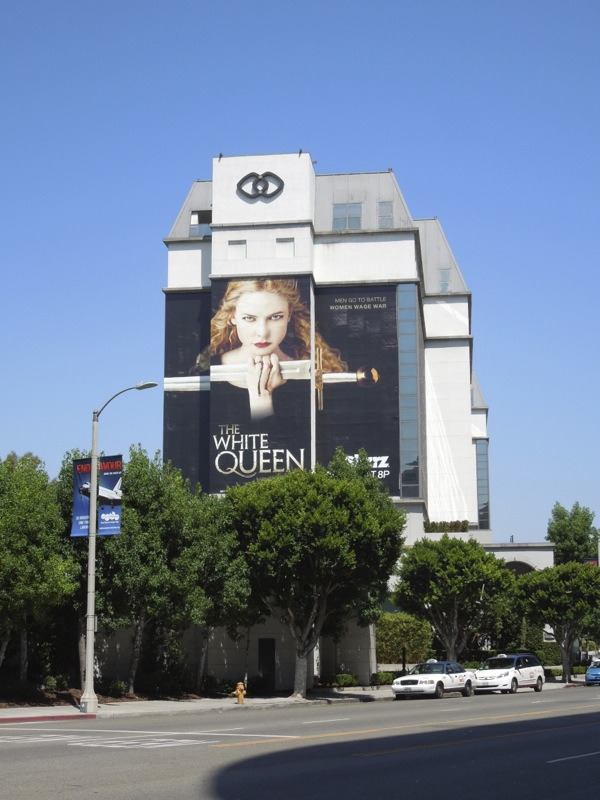 White Queen giant billboard