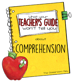 What your teacher's guide won't tell you about comprehension, one simple way to organize the strategies and terms