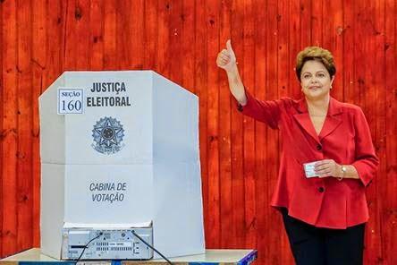 Contra Tudo e contra todos Dilma � reeleita Presidente do Brasil
