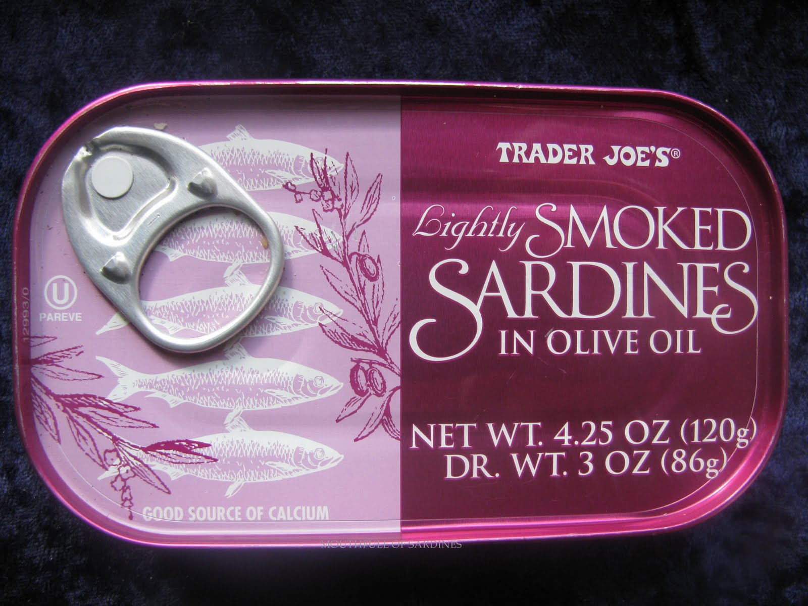 Mouth full of sardines trader joe 39 s 53 for Trader joes fish