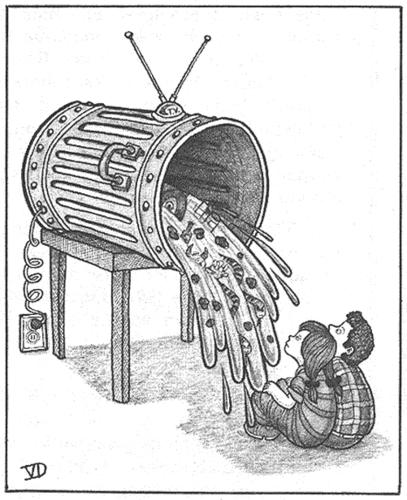 Colorea tus sueños: ¿Es la telebasura una manera de contaminar ...