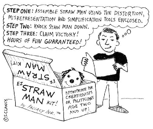 strawman argument