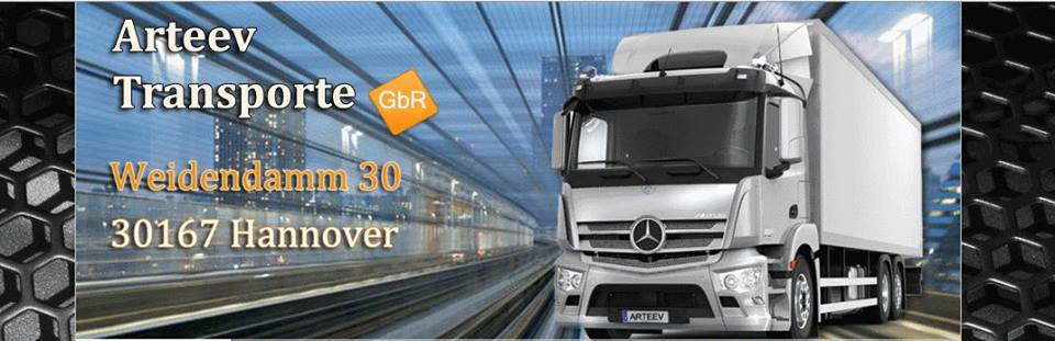 Trucking in Deutschland - ARTEEV TRANSPORTE GBR