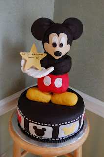 Creative Mickey Mouse Birthday Cake