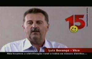 Luiz Geraldo Soranço, Candidato a Vice-Prefeito