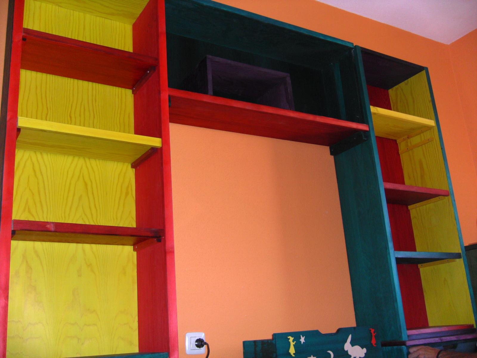 Mueble para ni os for Muebles de madera para ninos