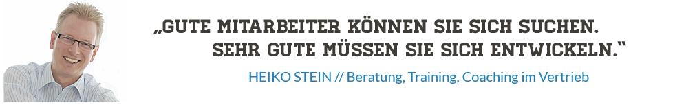 Alles Verhandlungssache - Heiko Stein bloggt