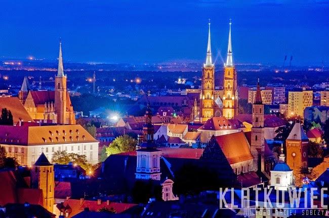 Wrocław: z widokiem na katedrę