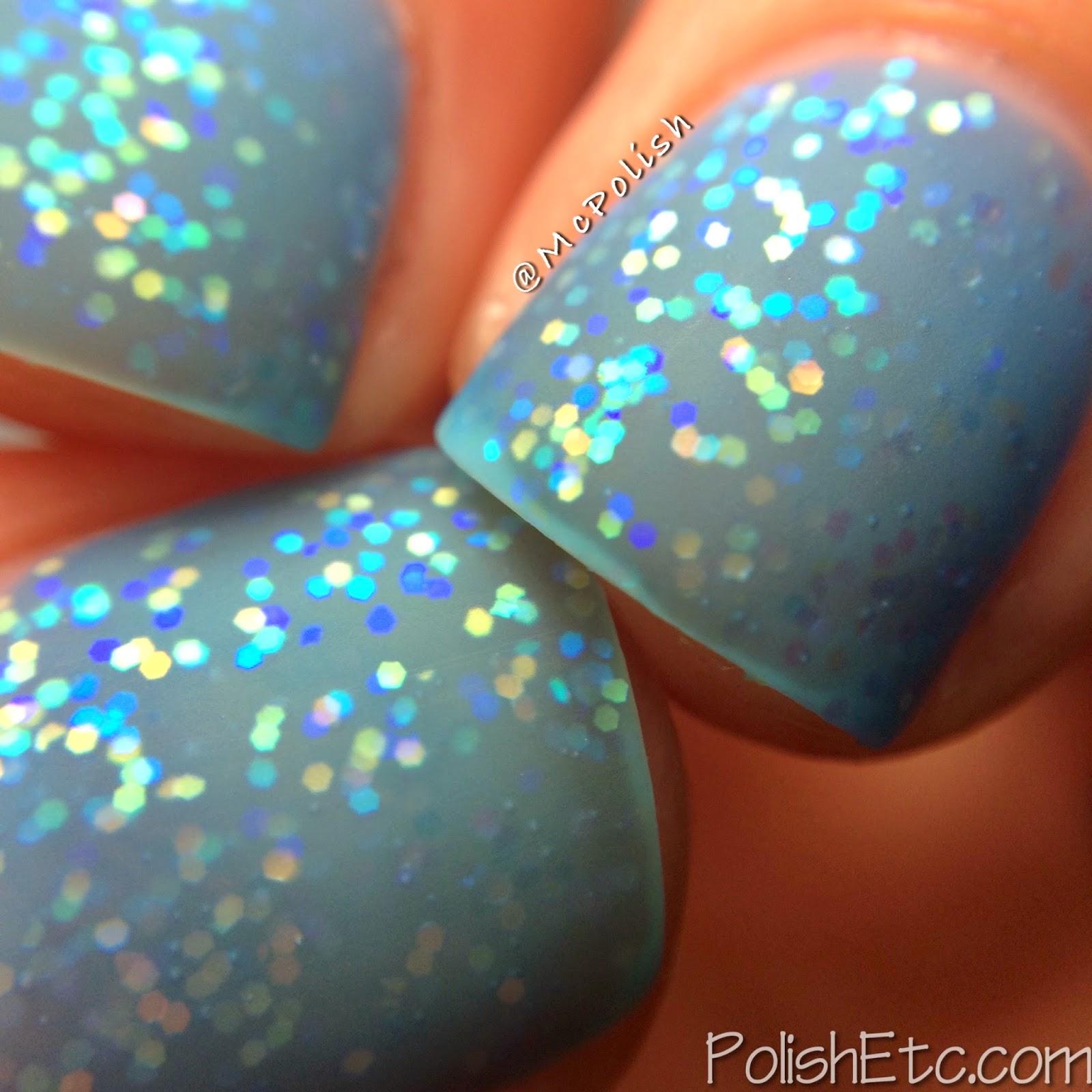 Pure Ice - New Year New Hue Jellies - Blue Hue - McPolish - Matte Macro