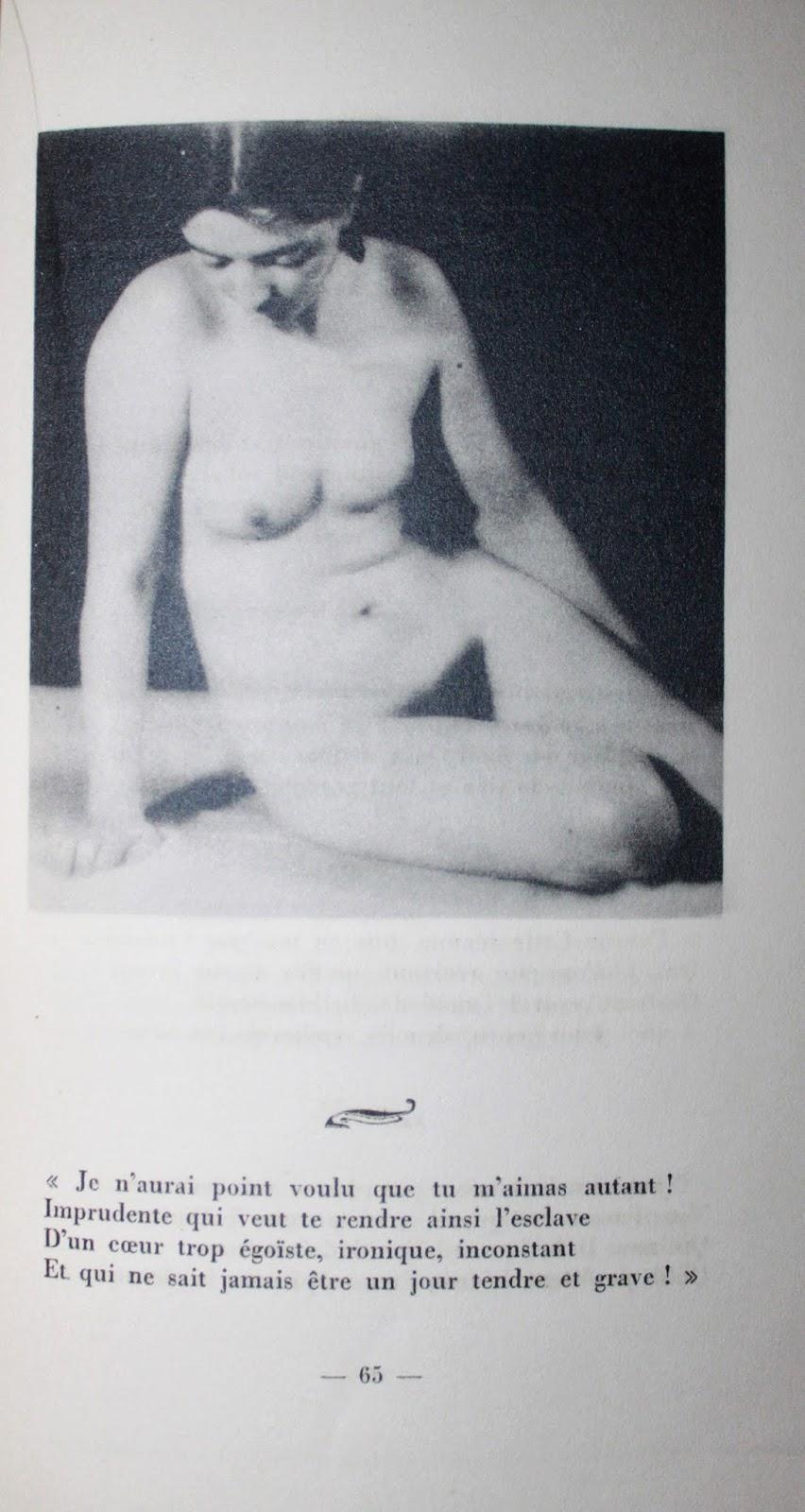 rechercher livre auteur photo ancienne nu erotique