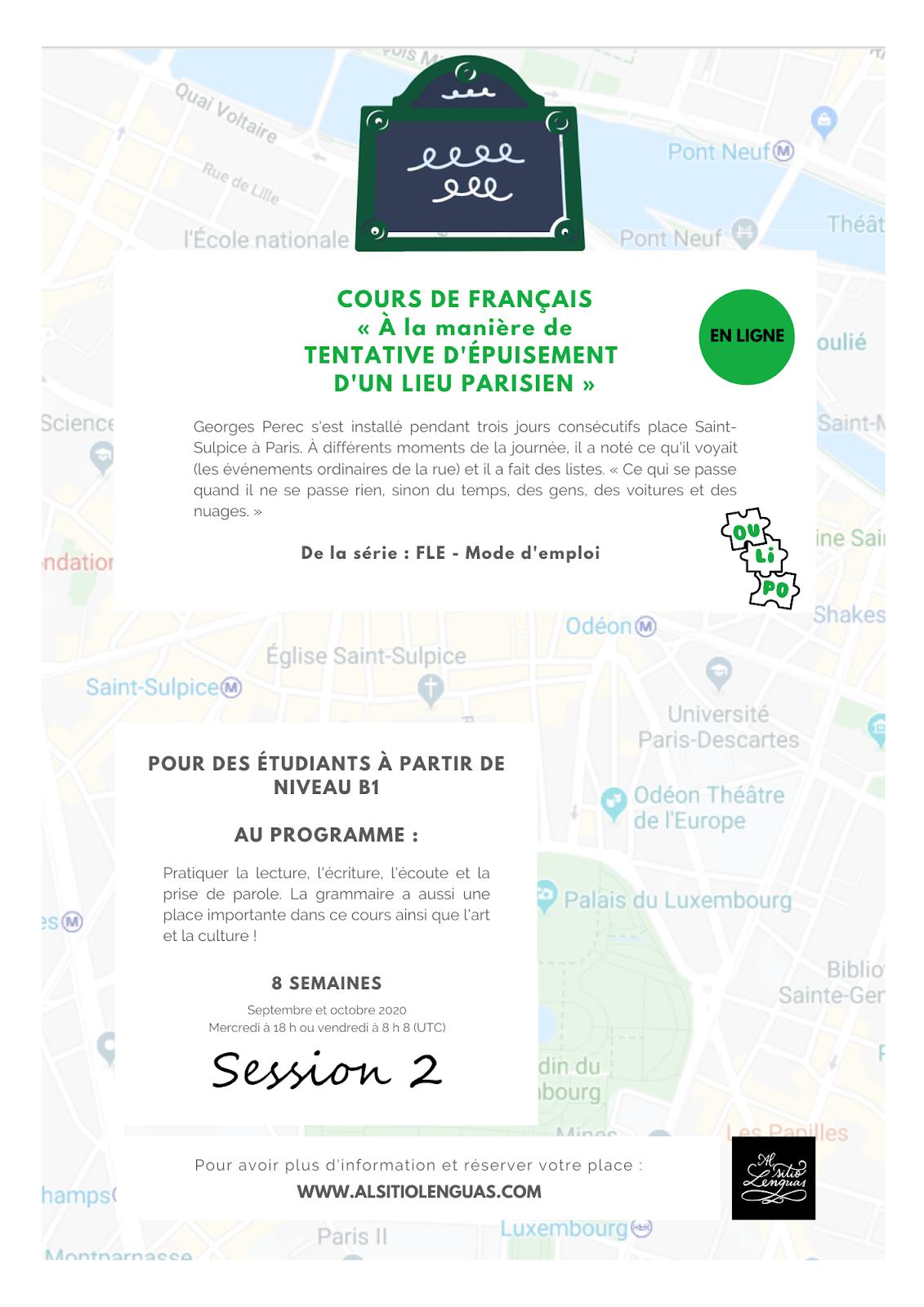 FRANÇAIS - SEPTEMBRE-OCTOBRE 2020